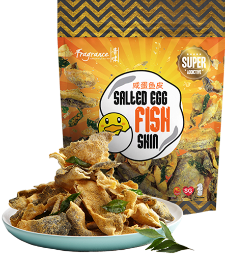 Products fragrance salted egg for Salted egg fish skin